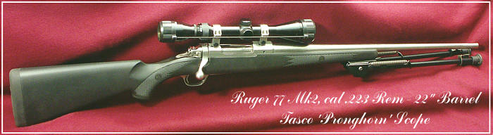 Ruger M77 MkII
